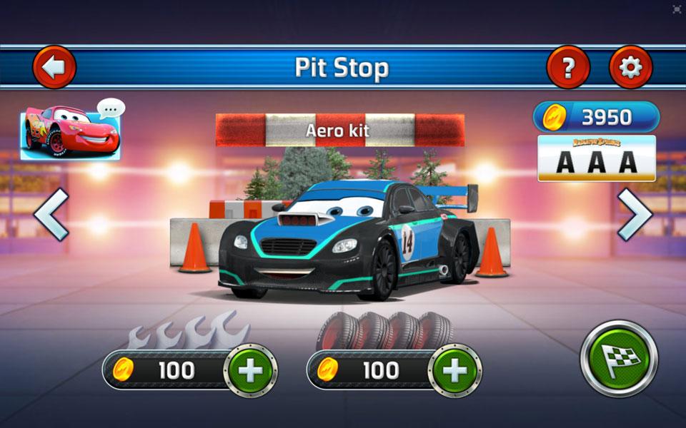 disney cars garage_extras_00