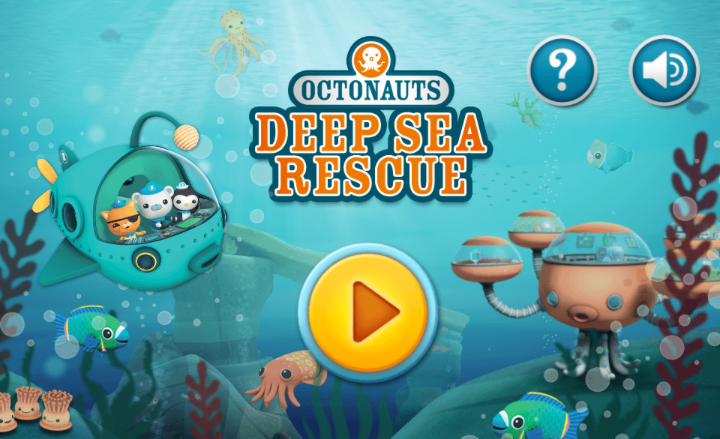 Octonauts Deep Sea Rescue
