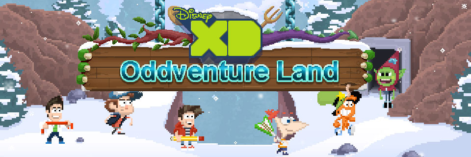 Oddventure Land Disney XD