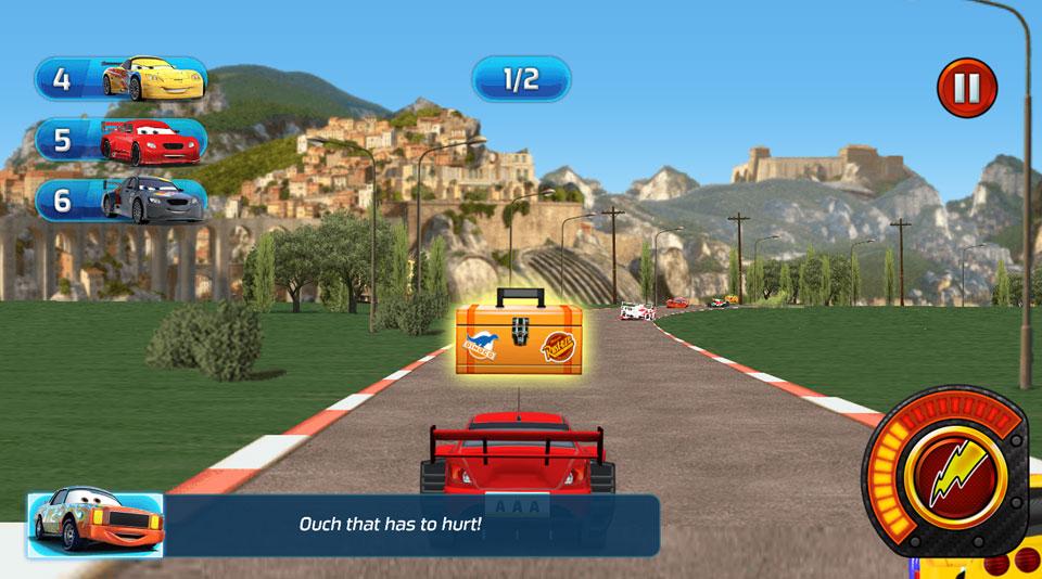 Disney Cars Lightning Speed pickups