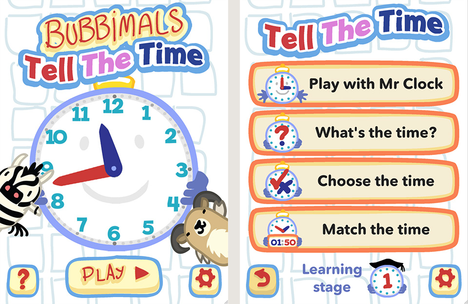 Tell the Time app
