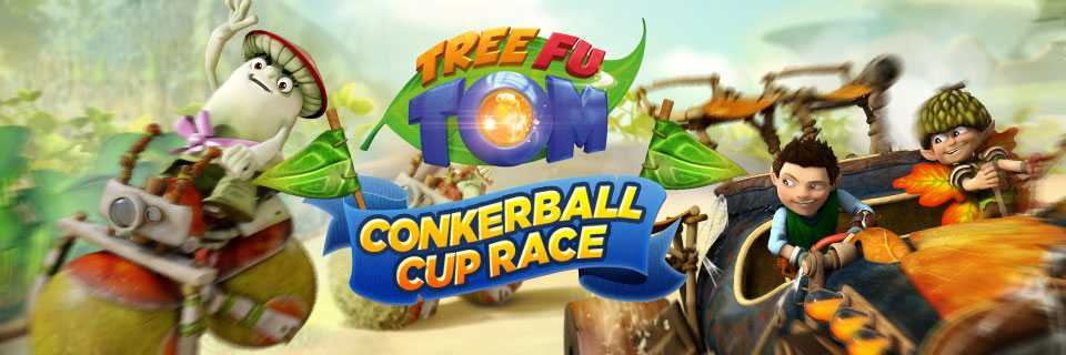 Tree Fu Tom Conkerball Cup CBeebies