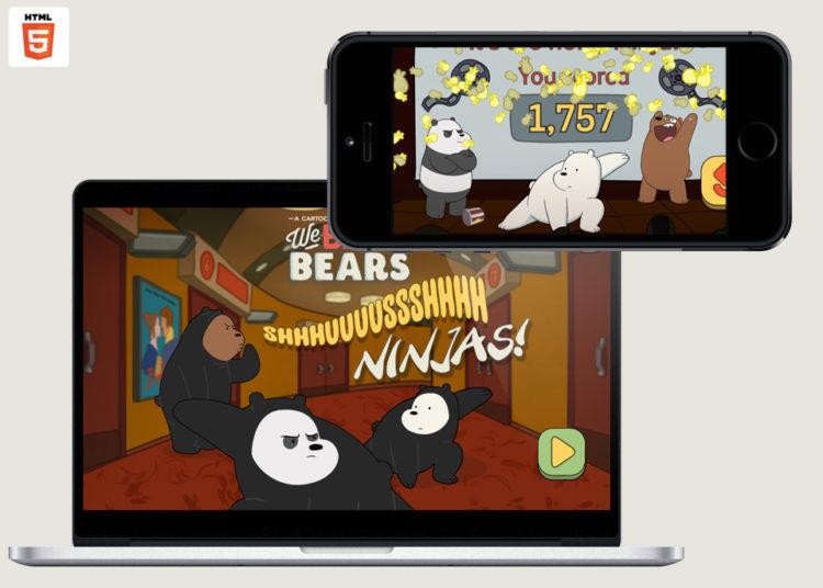 we bare bears shush ninja