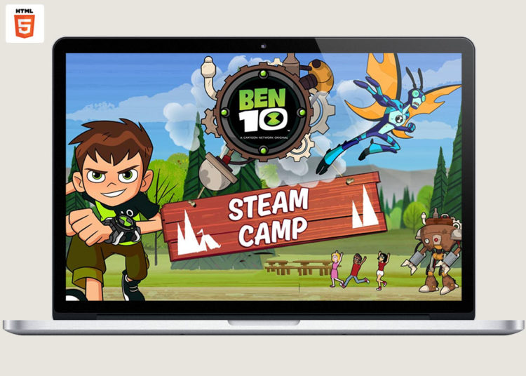 Ben 10 Steam Camp game