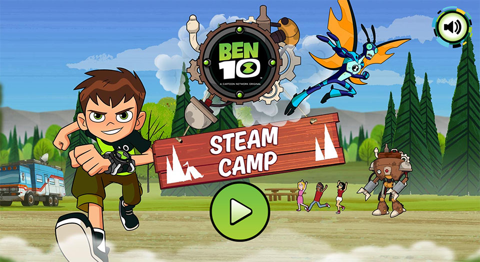 Ben 10 Steam Camp game