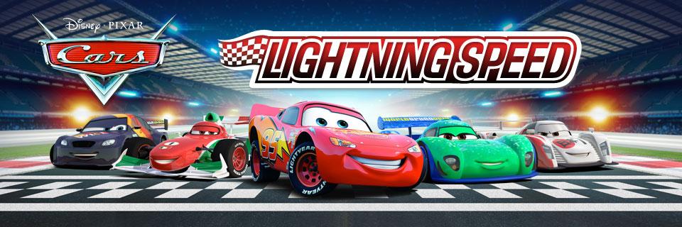 Disney Pixar Cars Lightning Speed