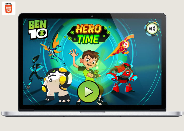 Cartoon Network Ben 10 Hero Time