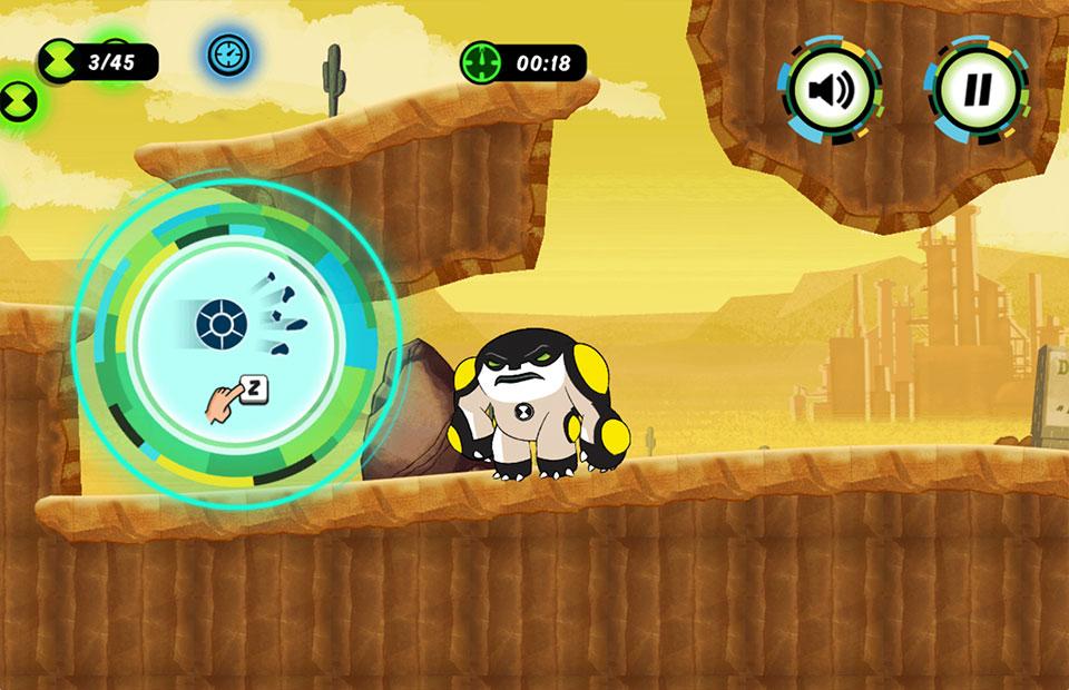 Cartoon Network Ben 10 Hero Time
