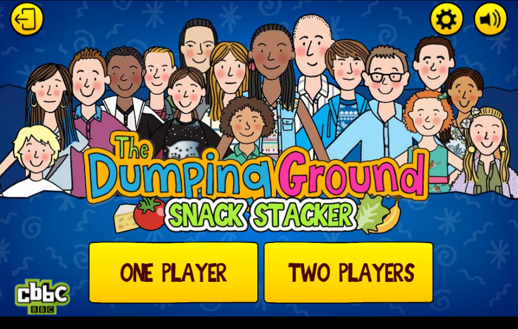 The dumping Ground Snack Stacker 1