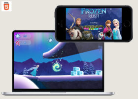 disney frozen rush