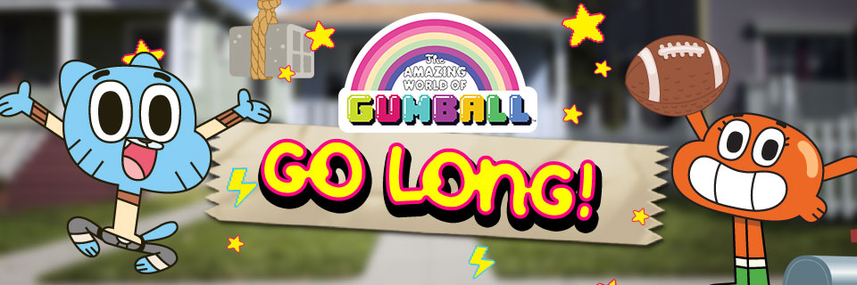 The Amazing World of Gumball Go Long!