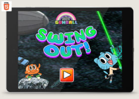 Amazing World of Gumball Swing Out!