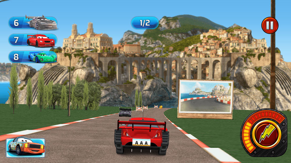 Disney Cars Lightning Speed italy1