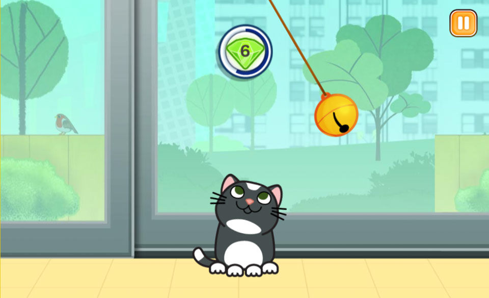 My Pet and Me - kitten_bell_game