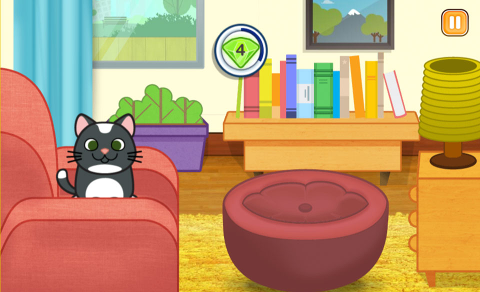 My Pet and Me  - kitten_hide_game