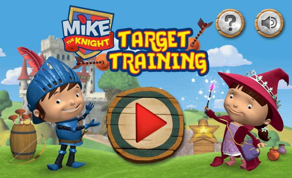 Mike the Knight Target Training