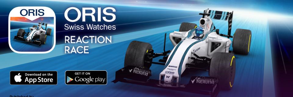 oris reaction race williams f1 racing