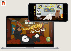 we bare bears shush ninja